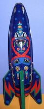 Rocket Ship Mars Raider X-2 Friction Powered Tin toy