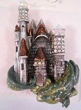 Kirks Folly NWOT Medieval  Crystal Castle Dragon Pin Brooch