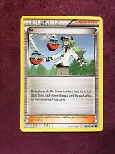N - 92/101 BW Noble Victories -  Trainer    Pokemon   (see scan)