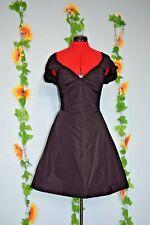 All Saint cute goth black bustle dress christmas