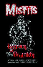 MISFITS - Legacy of brutality - Patch Aufnäher - NEU