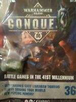 Games Workshop Warhammer 40000 Conquest Issue 36 AU SELLER Paints Included