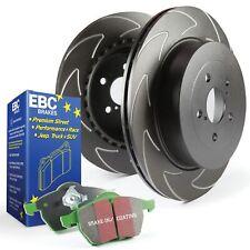 EBC Front BSD Brake Discs and Greenstuff Pads Kit For Ford Fiesta Mk6 2.0 ST150