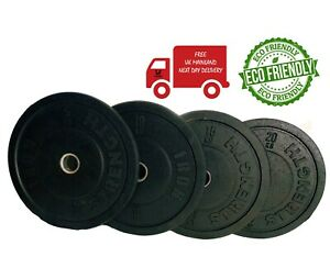 Bumper Weight Plates 5kg 10kg 15kg 20kg Gym Weightlifting Crossfit Fitness Olymp