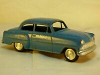 Vintage Lion Toys Holland Opel Record Rekord Olympia Blue Diecast Model Car Toy