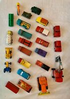 Lot Of 1960's '70's Matchbox Cars & Trucks By Lesney In Great Britain