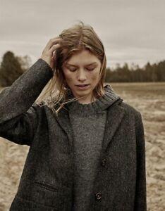 Nygardsanna Green 100% Wool Jacket Size 36/S