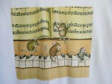 Vtg.Mice Playing The Piano.T-Shirt.Usa Made.New Tags.sz Large