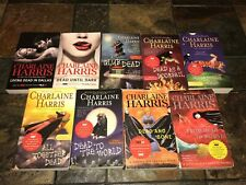 Charlaine Harris True Blood Series- Stackhouse lot of 9 paperback books