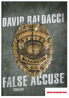 FALSE ACCUSE, DAVID BALDACCI, MONDADORI, COD.9788804607083 THRILLER