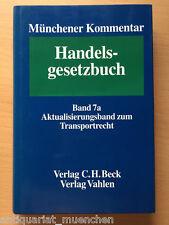 MÜNCHENER KOMMENTAR HGB Handelsgesetzbuch Band 7a Transportrecht RECHT