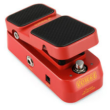 Donner 2 in 1 Vowel Mini Active Wah Volume Effect Guitar Pedal Best Quality