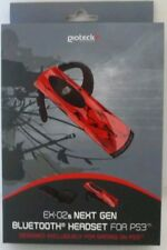 Red - PLAYSTATION 3 - NEXT GEN EX-02S BLUETOOTH GAMING HEADSET