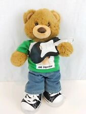 Build a Bear Teddy Bear with One Direction Outfit & Accessories