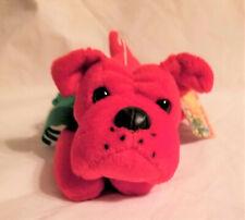 Vintage 24k Beanie Boppers Beauregard Dog 1997 Stuffed Plush Animal