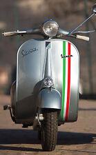 VESPA classic vintage style ITALIAN flag front fairing logo stripe, laminated