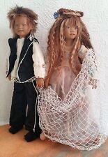 Kleines Prinzenpaar Mera und Namor - Club Minis 2006 von Annette Himstedt