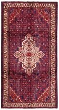 New listing Hand Knotted Tribal Navy Red Wool Hamedan Nomadic Oriental Rug Carpet 5.5 x 10.7