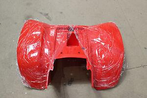 SMC rear body plastic red