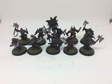 10 X Painted Khorne Bloodreavers Chaos Age Of Sigmar Warhammer