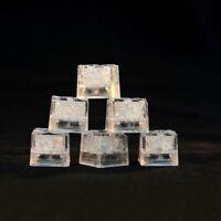 12 pcs Party Decorative LED Ice Cubes Light Multi-Color Liquid Sensor Ice C I5O8