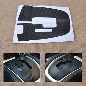 Car Gear Shift Panel Protective Sticker Fit For Nissan Rogue/ X-Trail 2014 2015