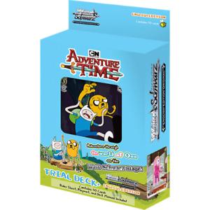 Weiss Weiß Schwarz English Adventure Time Trial Deck+ NEW