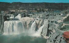 "*Idaho Postcard-""Shoshone Falls"" (Higher Than Niagara Falls) /Near Twin Falls/"