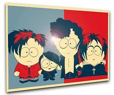 Poster Propaganda Full - South Park - Goth Kids - LL1424