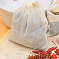 10 pcs Reusable Food Filter Mesh Bag Nut Milk Bean Muslin Fish Soup Cook Boiling