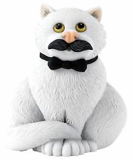 Linda Jane Smith Comic and Curious Cats Movember Figurine Ornament 8cm A27686
