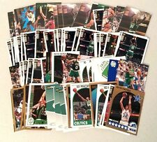 Lot of 96 BOSTON CELTICS basketball cards -- all different years!!