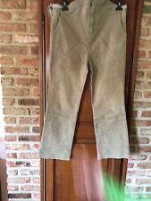 jeans pantacourt de grossesse taille 42
