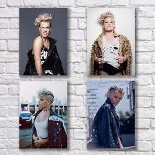 Pink Poster A4 NEW Set What About Us Beautiful Trauma P!nk Home Wall Decor #1
