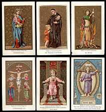 lotto santini-holy cards lot-lot images pieuses-konvolut heiligenbildichen 2166