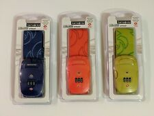 *NEW* Samsonite 3 Dial Combination Luggage Strap - 3 Colors Available