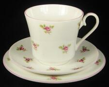 Jason Works Nanrich Pottery Pink Roses Fine Bone China Cup/Saucer/Plate Trio
