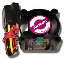 Antec 40mm x 20mm Ball Bearing Fan with 4 Pin Molex Pass Thru Connector