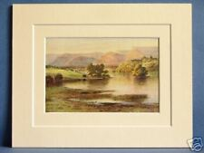LOUGH GILL CONNAUGHT IRELAND VINTAGE 1912 PRINT 10 X 8