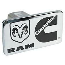 Cummins hitch hider emblem dodge decal chrome diesel cover badge plate truck