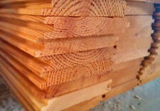 Perline di larice 20x120x2000 mm. doghe in legno tavole incastro per fai da te