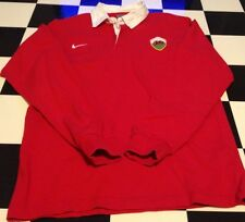Nike Authentic Wales United Kingdom Rugby Jersey Vintage Medium World Cup Sample