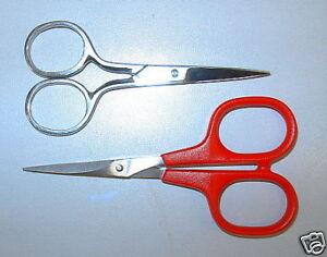 Stickschere Bordürenschere 9 cm  oder 10,5 cm Edelstahl rostfrei