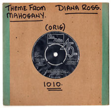 """MOTOWN.DIANA ROSS.THEME FROM MAHOGANY / NO ONE'S GONNA BE A FOOL.UK ORIG 7"""".EX"""