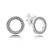 New Authentic Pandora Forever Stud Earrings 290585CZ