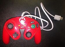 Wii Mario Red Wired Fight Pad