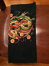 Teefury Men's LARGE Blue T-Shirt Neverending Dragons Dragonball Z Dragonball-Z