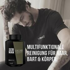 Seb Man The Multitasker - Shampoo 250 ML 3 IN 1 Hair, Beard And Body Body Wash