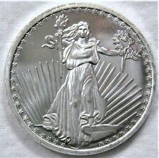 1 oz Silver Towne Saint Gaudens Silver Round .999