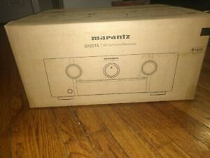 Marantz SR6015 8K Ultra HD 9.2 Channel AV Receiver With HEOS (2020 Model)
